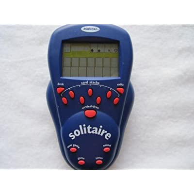 Radica Electronic Handheld Solitaire (2000): Toys & Games