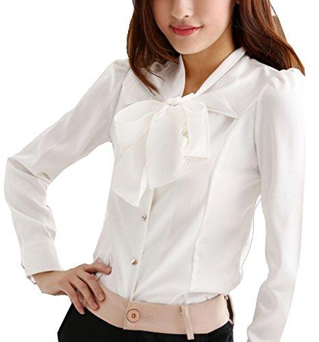 Ruffle Stand Collar Shirt - 9