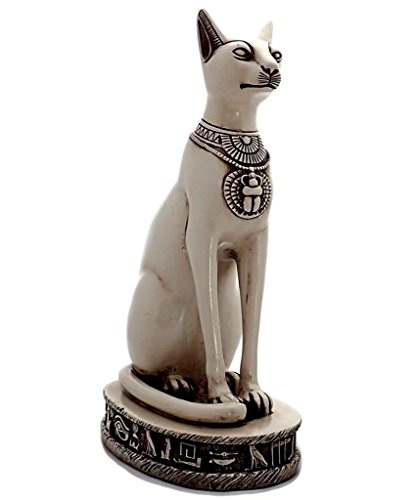 Discoveries Egyptian Imports Bastet Cat Goddess Statue - Made in Egypt by Discoveries Egyptian Imports