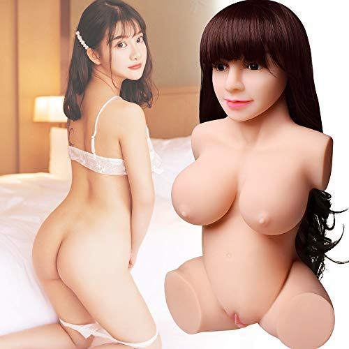 Super Realistic Lifesize Real Woman Torso Love Doles for Men Male Adult Toy with Wig & 3 Entries Holes Love Traing Relax by Sweetie (Image #1)