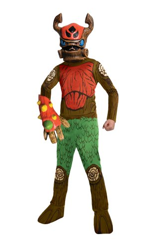 Rubies Skylanders Swap Force Tree Rex Costume, Child Medium (Skylander Costumes For Boys)