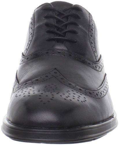 Rockport ALMARTIN - Zapatos de cordones de cuero para hombre, color negro, talla 45