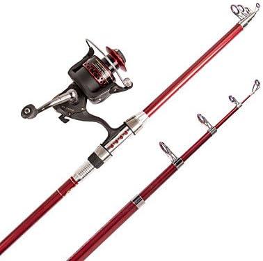 Cañas de Pescar TY Telespin Rod ISO Carrete de caña de Pescar ...