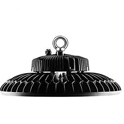 DE-Power 200W LED UFO High Bay Light Indoor Commercial Area Lighting 26,000lm Super Bright MH/HPS Replacement 5 Years Warranty DLC&ETL Listed