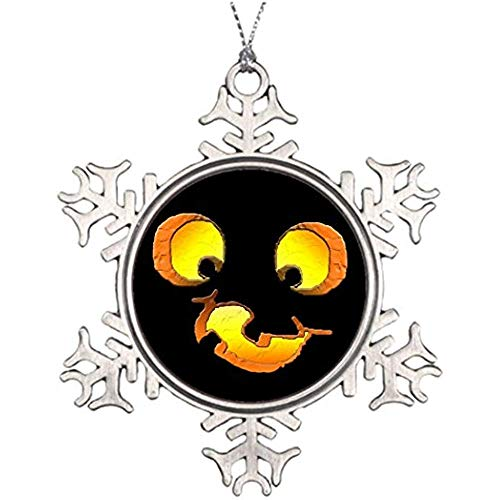 Diuangfoong Xmas Trees Decorated Halloween Goofy Jack-o-Lantern Tree Garland