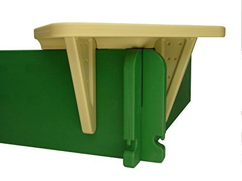 SandLock Sandbox Corner Seat - Corner Sandbox Seats