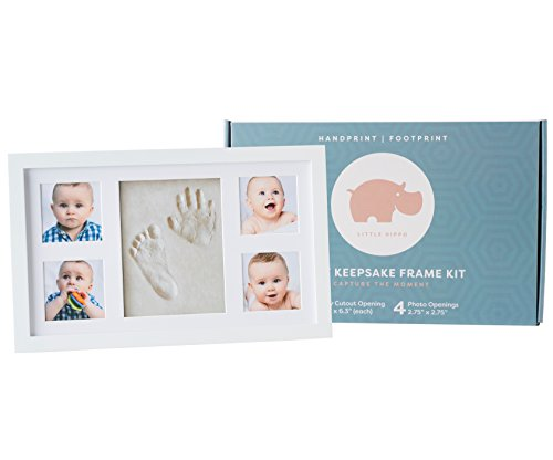 Baby Handprint Kit Deluxe Size No Mold Picture Frame