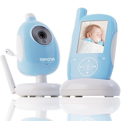 Two Way Video Baby Monitor with HQ Camera by TAPIONA - Long