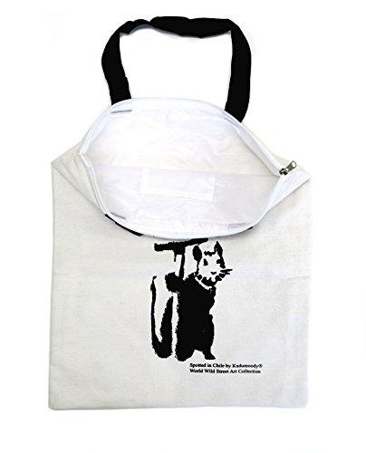 Kudu Chile Moody Jute from Street Weiß Libertad Tasche Art r1rRSqYx
