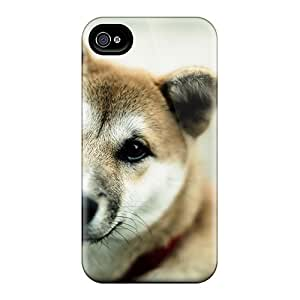 Iphone 4/4s Hard Back With Bumper Silicone Gel Tpu Case Cover Cute Face