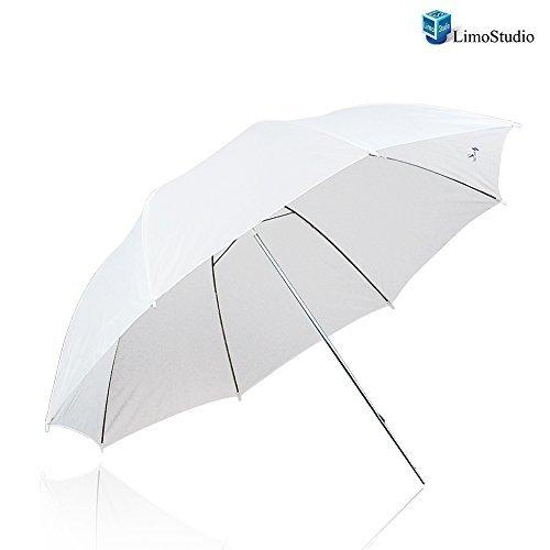 "Limostudio Photography 43"" White Premium Wide Umbrella Reflector Agg139 6"