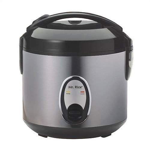 Sunpentown SC-1201S 6-Cup Stainless-Steel Rice Cooker