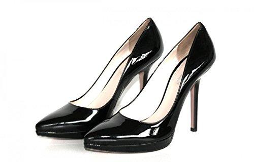 nbsp;Cour Pompes cuir 1ip065 en femme Prada Chaussures ZWqASRSa
