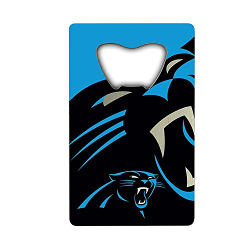 NFL Carolina Panthers Credit Card Style Bottle (Carolina Credit Card)