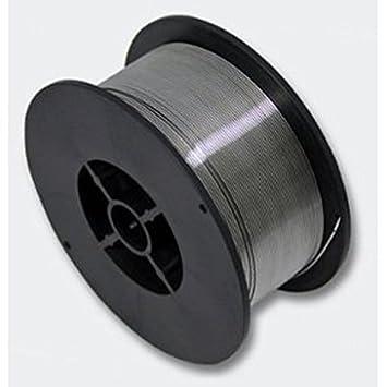 1 kg relleno alambre 0,8 mm Alambre de soldadura MIG/MAG - 1 rollo - sin gas e71t de 1 Flux Core: Amazon.es: Coche y moto
