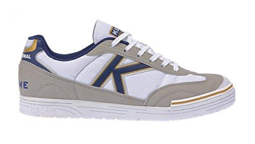 White Adulte Azul Bleu Trueno Chaussures de Mixte 172 Football Blanc Kelme Sala Zqz7R
