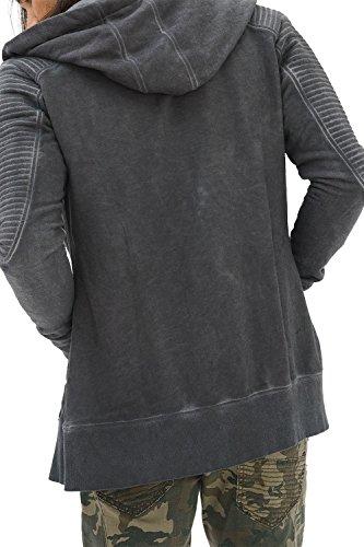 Sudadera Vestir Fashion Moda Anthrazit Manga Basico Slim Chaqueta Rock Capucha Ropa Retro Jacket Fit Marca Urban Hombre Trueprodigy Cool Con Casual Sueter Vintage Larga Designer Zip P4vtt1