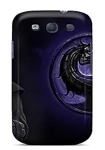 New Arrival Galaxy S3 Case Mortal Kombat Sub Zero Case Cover