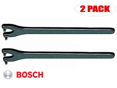 Bosch 1380 Slim Angle Grinder Replacement Spanner Wrench # 1607950043 (2 PACK)