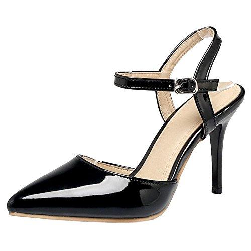 Black Taoffen 2 Pointu Sandales Femmes tO0OvxqB