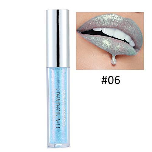 - FANOUD Waterproof Long Lasting Polarized Lip Gloss Mermaid Colorful Pearlescent Lip Light Lipstick Makeup Lip