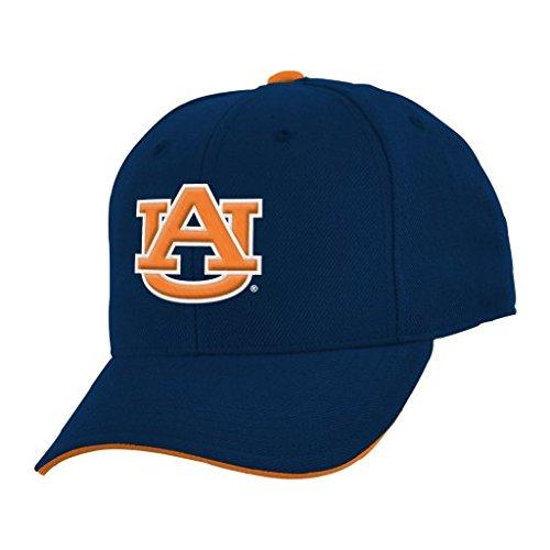 UPC 889035958957, NCAA Youth Boys 8-20 Auburn Tigers Basic Structured Adjustable Cap, 1S