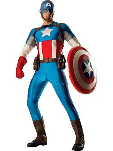 Rubie's Costume Co Men's Marvel Universe Grand Heritage Collector Captain ()