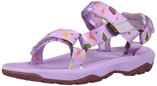Teva Girls' T Hurricane XLT 2 Print Sport Sandal TERRAZO Orchid, 10 Medium US Toddler