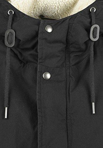 9000 Black Para Darnell solid De Chaqueta Invierno Hombre 04x1Fq
