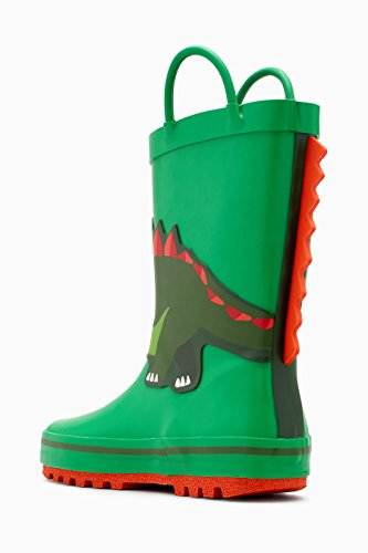 next Niños Botas De Agua con Dinosaurios (Niño Pequeño) Verde