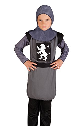 [Medieval Knight Boys Fancy Dress Fairytale Renaissance Kids Childrens Costume (7-9 years)] (Storybook Fairytale Costumes)