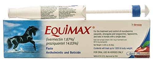 Paste Anthelmintic - Equimax Paste Anthelmintic and Boticide by BIMEDA