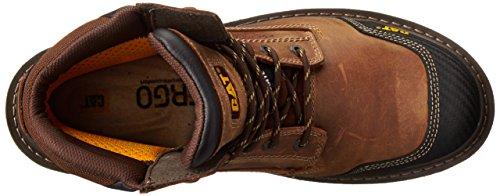 Caterpillar Men's Fabricate 6 Inch Tough Waterproof Comp Toe Work Boot, Brown, 14 M US by Caterpillar (Image #8)