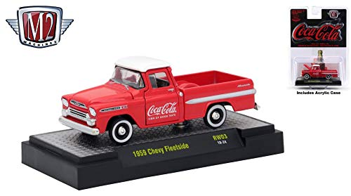 M2 Machines 1959 Chevy Fleetside Limited Edition Coca-Cola for sale  Delivered anywhere in USA