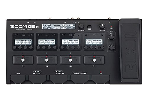 Zoom G5n Multi-Effects Processor for Guitarists - Expressions Cabinet