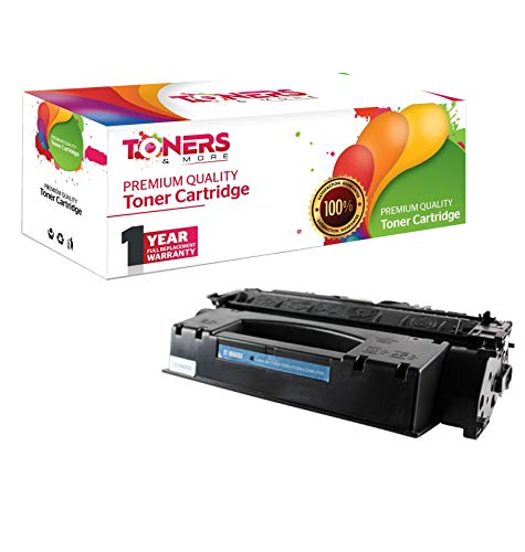 Toners & More Compatible Laser Toner Cartridge for Hewlett Packard HP Q5949X 5949X 49X High Yield Works with HP Laserjet 1320, 1320n, 1320nvv, 1320t, 1320tn, 3390, 3392-6,000 Page Yield