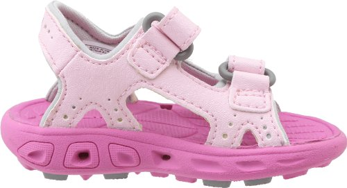 Columbia Techsun Vent T - Escarpines para niños, color Cupid/Very Berry