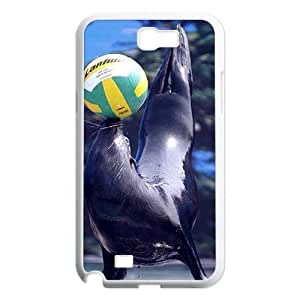 Best New Hard Back Case Cover for Samsung Galaxy Note 2 N7100 - Sea Lion CM11L6916