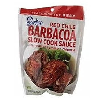 Amazon.com : Frontera Red Chile Barbacoa Slow Cook Sauce, 8 Fluid Ounces - Pack of 3 : Grocery & Gourmet Food
