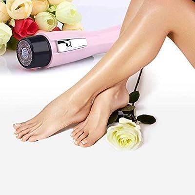 Afeitadora para mujeres, removedor de vello sin dolor para la ...