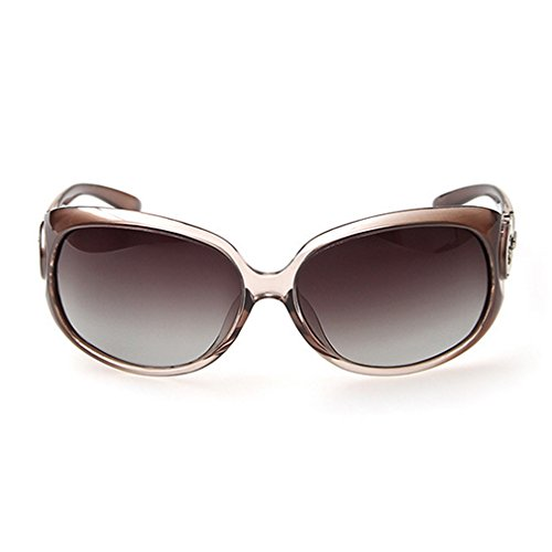 G&T New Fashion Classic Womens Big Frame UV Gradient Lens Driving Polarized - Jackie Style Kennedy Sunglasses