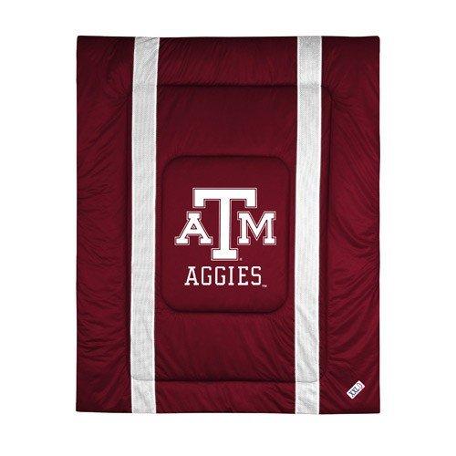 NCAA Texas A&M Aggies Sideline Comforter Twin (Comforter Sidelines Texas)