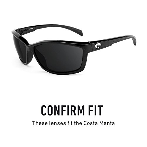 Verres de rechange pour Costa Manta — Plusieurs options Titanium MirrorShield® - Polarisés