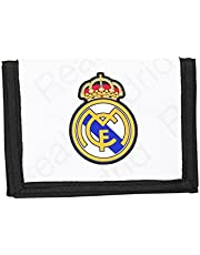 Real Madrid CF, monedero cartera (S036), varios colores, 12,5x 9,5x 1cm
