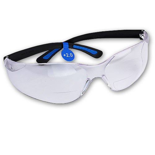 FastCap Bifocal Safety Glasses, - Glasses Bifocal Safety