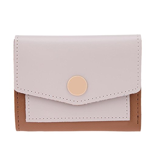 Elegant Hasp Short Holder Leather Ivory Wallets Domybest Purse Coin PU Card Women Simple 0aSYn5