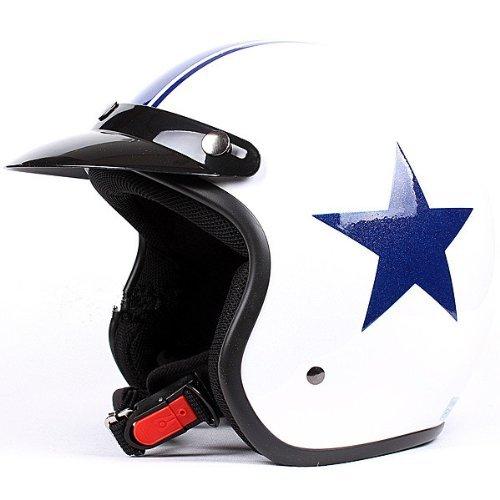 Blue Motorbike Helmet - 1