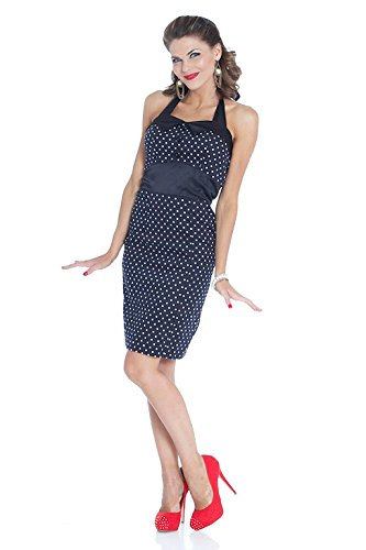 50 Outfits For Womens (Hip Hop 50's Shop Vintage Style Dress (Large, Black Pencil))