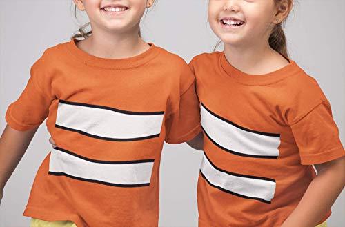 Clown Fish Nemo Animal Halloween Costume Funny Youth Kids Customized Handmade T-Shirt Hoodie/Long Sleeve/Tank Top/Sweatshirt]()