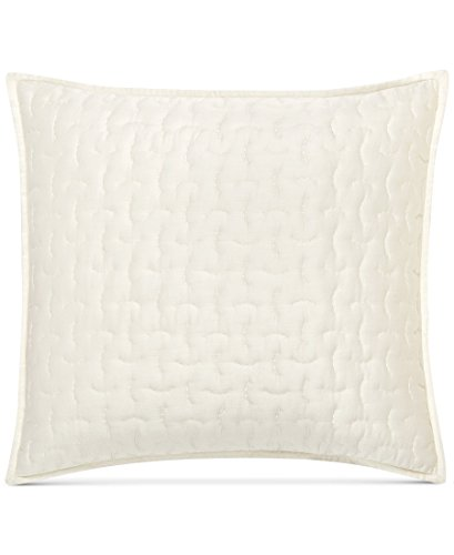 Hotel Collection Quilted Sham - Hotel Collection Connections Quilted European Sham Cream Ivory